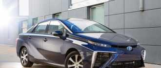 Новая Toyota Mirai 2016: цена, характеристики и фото