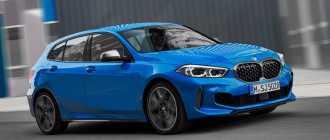 Хэтчбек BMW 1-Series 2020