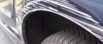 Удаление царапин на кузове автомобиля: технология, инструменты, материалы